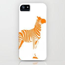 Animals Illustration Zebra iPhone Case