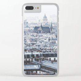 Rooftops - Architecture, Photography Clear iPhone Case