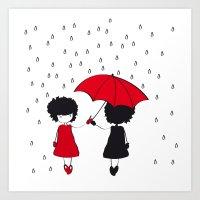 Liz_Rain Art Print