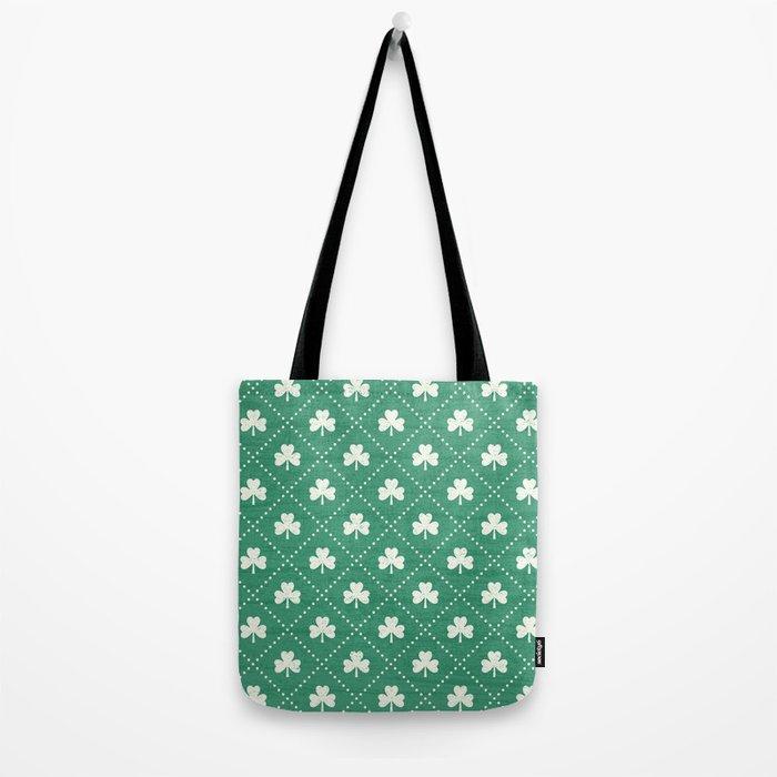 SHAMROCK ON! - emerald Tote Bag