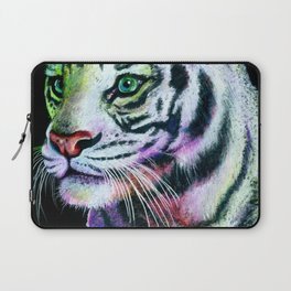 Rainbow Tiger Laptop Sleeve