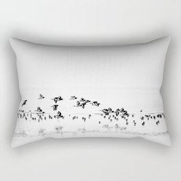 Wading birds in Flight Rectangular Pillow