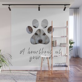 A Heartbeat at Your Feet Wall Mural