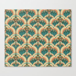 A Deco Garden Canvas Print