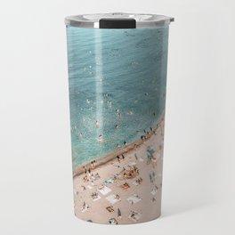 Beach Print, Bondi Beach, Aerial Print, Travel Print, Ocean Wall Art, Coastal Print, Art Print, Home Decor, Sea Coast, Aerial Photo Travel Mug