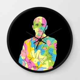 Change - color blobs Wall Clock