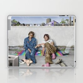 John and Paul get away from it all Laptop & iPad Skin