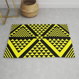 Black & Yellow Rug