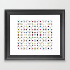 Through Damien Hirst's Eyes Framed Art Print