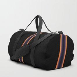Black Stripes Duffle Bag