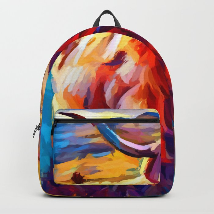 Highland Cow 4 Backpack