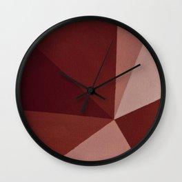 Abstract #8 Wall Clock