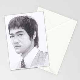 Lee, Bruce the dragon Stationery Cards