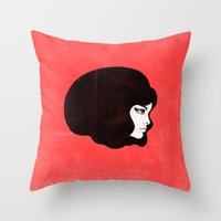 60s Throw Pillows featuring 60s by martiszu