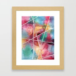 masking experiment 1 Framed Art Print