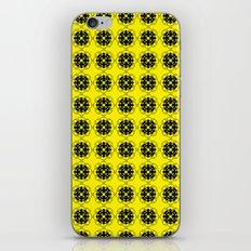Yellow Custom Pattern iPhone & iPod Skin