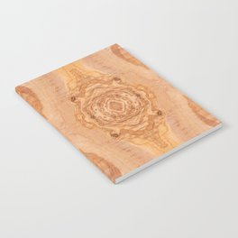 Olive wood surface texture abstract Notebook