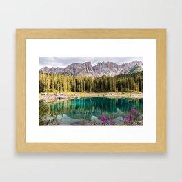 Italian landscape #society6 #decor #buyart Framed Art Print