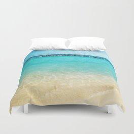 Blue Curacao Duvet Cover