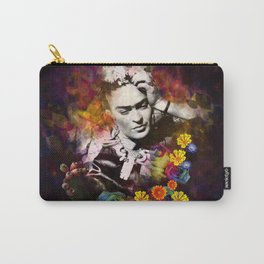 The colors of Frida Carry-All Pouch