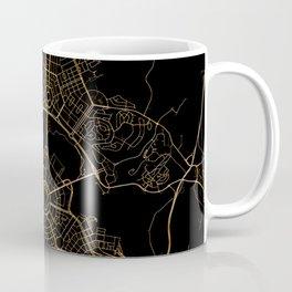 Canberra map, Australia Coffee Mug