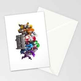 Knight Squad team Stationery Cards