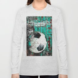 Soccer ball vs 9 Long Sleeve T-shirt