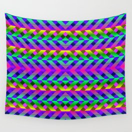 Rainbow Scaffolding Wall Tapestry