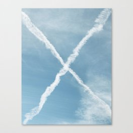 ex Canvas Print