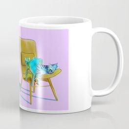 animals in chairs #12 Cats Coffee Mug