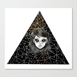 Ovni Girl Canvas Print