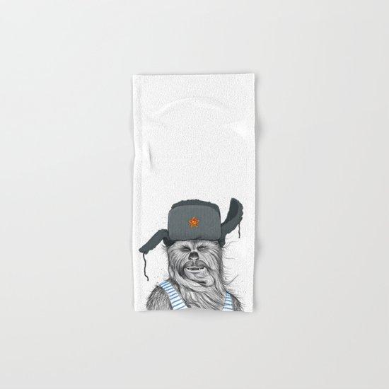 Russian Chewbacca Hand & Bath Towel
