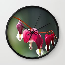Lady in a bath Wall Clock