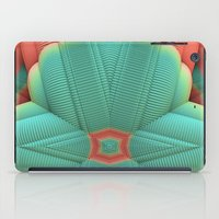 deco iPad Cases featuring Miami Deco by Lyle Hatch