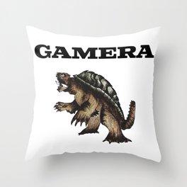 gamera Throw Pillow