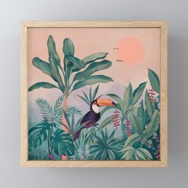 Jungle Paradise Framed Mini Art Print