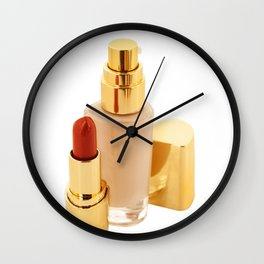 cosmetic collection Wall Clock