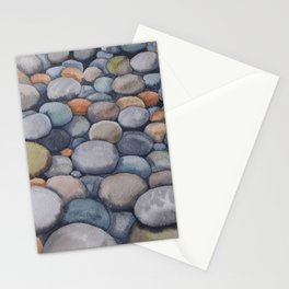 Watercolour relaxation Stationery Cards