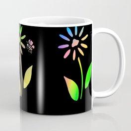 Bees And Flowers Coffee Mug