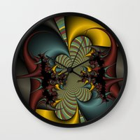 wicked Wall Clocks featuring Wicked by Christy Leigh