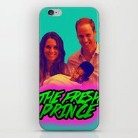 fresh prince iPhone & iPod Skins featuring The Fresh Prince by Matheus Lopes