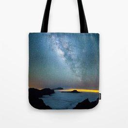 La Palma Milky Way Tote Bag