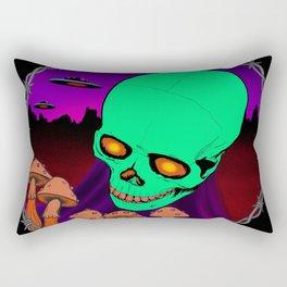 Death trip Rectangular Pillow