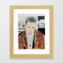 Brad Pitt-Tyler Durden Framed Art Print