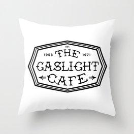 The Marvelous Mrs Maisel - GASLIGHT CAFE Throw Pillow