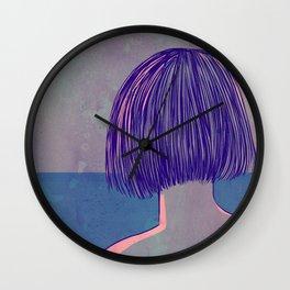 At the sea Wall Clock