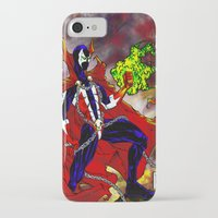 spawn iPhone & iPod Cases featuring Spawn Color by Gurriapu