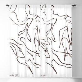 Henri Matisse -The Dance - Sketch Reproduction Blackout Curtain