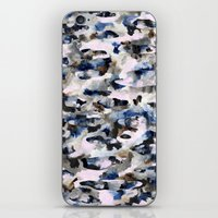 camo iPhone & iPod Skins featuring Camo by Josie Stevenson