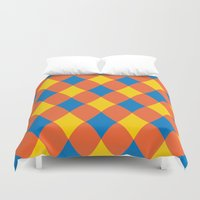 carnival Duvet Covers featuring Carnival by machmigo